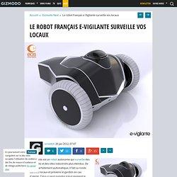 Le robot français e-Vigilante surveille vos locaux