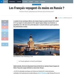 Les Français voyagent-ils moins en Russie