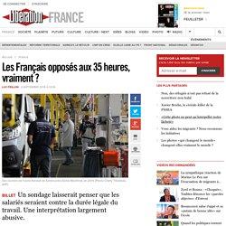 Les Français opposés aux 35 heures, vraiment?