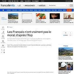 Les Français n'ont vraiment pas le moral, d'après l'Ifop