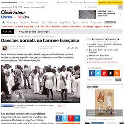 Dans les bordels de l'armée française