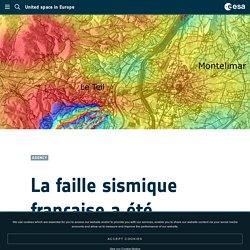 La faille sismique française a été cartographiée