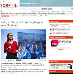 La leçon d'Esther Duflo, la Française qui va conseiller Obama