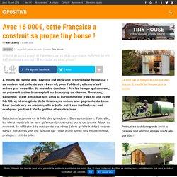 Avec 16 000€, cette Française a construit sa propre tiny house !