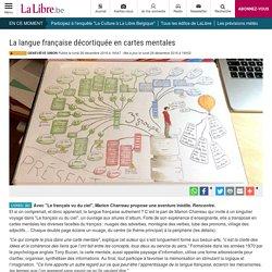 La langue française décortiquée en cartes mentales