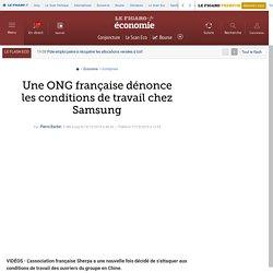 Une ONG française dénonce les conditions de travail chez Samsung