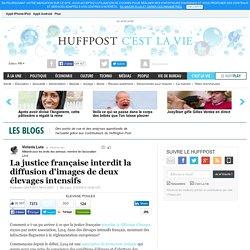 La justice française interdit la diffusion d'images de deux élevages intensifs