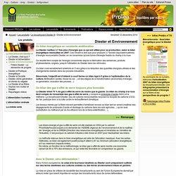 3 - PROLEA : La filière française des Huiles et Protéines Végétales : Diester et Environnement