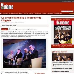 La presse française à l'épreuve de l'Algérie