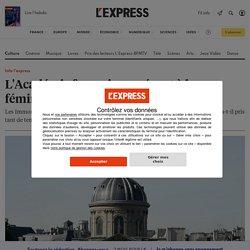 INFO L'EXPRESS - L'Académie française se résout à la féminisation