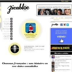 Chanson française : histoire, chansons, artistes, clips, mp3