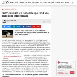 Prizm, la start-up française qui rend vos enceintes intelligentes