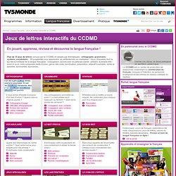 TV5 MONDE - Jeux de lettres interactifs