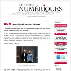 L'auto-édition à la française : Librinova
