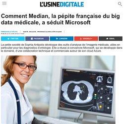 Comment Median, la pépite française du big data médicale, a séduit Microsoft