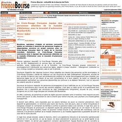 France Bourse - La bourse en ligne : La Croix-Rouge française équipe des personnes atteintes de la maladie d'Alzheimer avec le bracelet d'autonomie BlueGard(R)