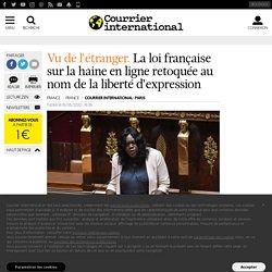 La loi française sur la haine en ligne retoquée au nom de la liberté d'expression