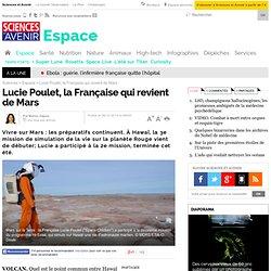 Lucie Poulet, la Française qui revient de Mars