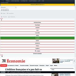 L'édition française n'a pas fait sa révolution numérique