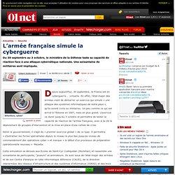 L'armée française simule la cyberguerre