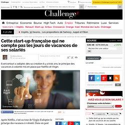 Cette start-up française qui ne compte pas les jours de vacances de ses salariés