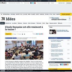 L'école française est-elle vraiment à la traîne ?