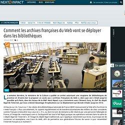 Comment les archives françaises du Web vont se déployer dans les bibliothèques