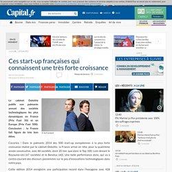 Ces start-up françaises qui connaissent une très forte croissance