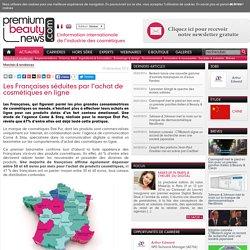 Les Françaises séduites par l'achat de cosmétiques en ligne