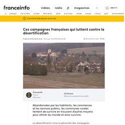 Ces campagnes françaises qui luttent contre la désertification