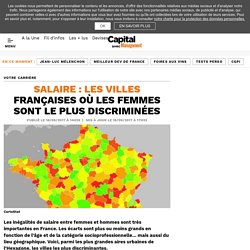 Salaire : les villes françaises où les femmes sont le plus discriminées
