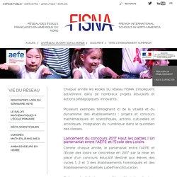 Vie du réseau dans les écoles françaises internationales