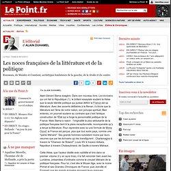 Les noces françaises de la littérature et de la politique