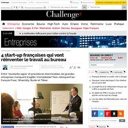 4 start-up françaises qui vont réinventer le travail au bureau