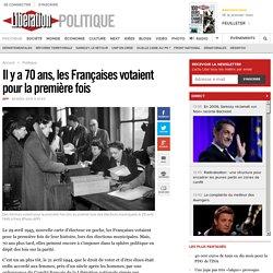 Il y a 70 ans, les Françaises votaient pour la première fois