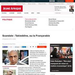 2010 Ziad Takieddine, ou la Françarabie