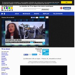 France 24 : la TV info en direct