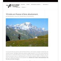 10 treks en France à faire absolument