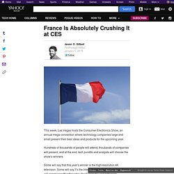 France Crushing It at CES