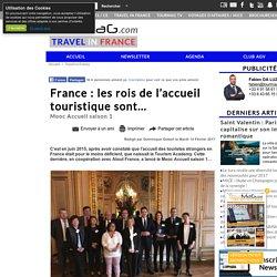France : les rois de l'accueil touristique sont...