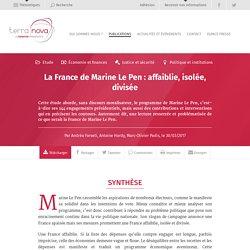 La France de Marine Le Pen : affaiblie, isolée, divisée