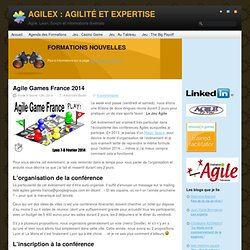 Agile Games France 2014