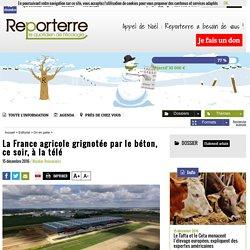 La France agricole grignotée par le béton, ce soir, à la télé