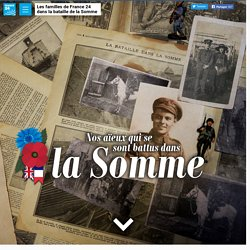 France 24 : nos aïeux qui se sont battus dans la Somme