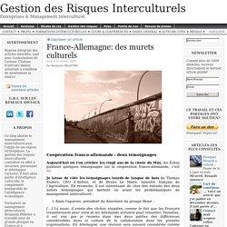 France-Allemagne: des murets culturels