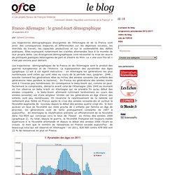 France-Allemagne : le grand écart démographique
