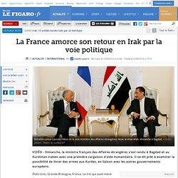 La France amorce son retour en Irak par la voie politique