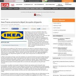 Ikea France annonce le départ de quatre... - Maison
