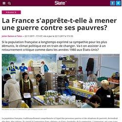 La France s'apprête-t-elle à mener une guerre contre ses pauvres?