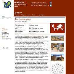 ASF France : Architectes sans frontières